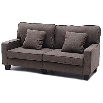 Luxes Sofa Couch Living Room Sofa Line Fabric Classic Modern