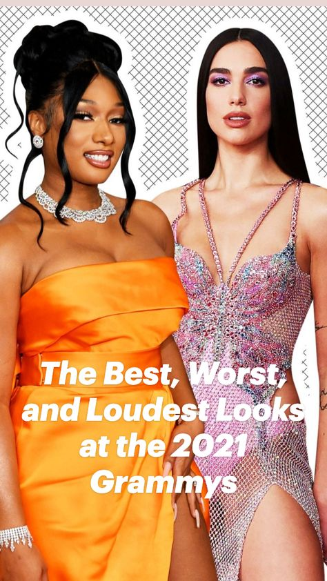 The Best, Worst, and Loudest Looks at the 2021 Grammys