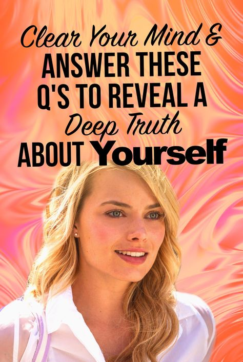 Quick! Answer Yes Or No To These Q's And We'll Reveal Your