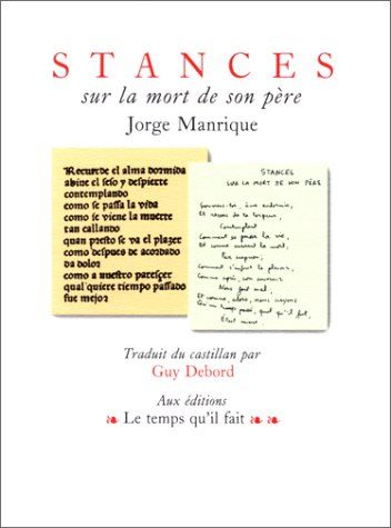 Telecharger Stances Sur La Mort De Son Pere Pdf Par Jorge Manrique Telecharger Votre Fichier Ebook Maintenant Good Books Ebook Ebooks