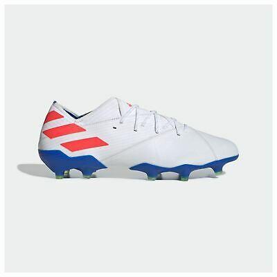 Advertisement Ebay Adidas Nemeziz Messi 19 1 Firm Ground Football Boots Mens White Soccer Cleats Messi Boots Messi Football Boots