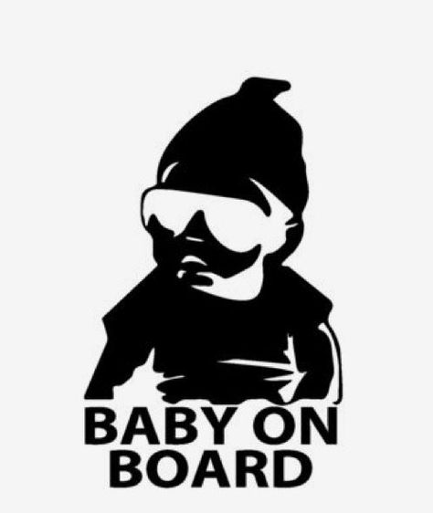 BABY ON BOARD FUNNY CAR DECAL CARLOS THE HANGOVER TRUCK WINDOW STICKER VINYL