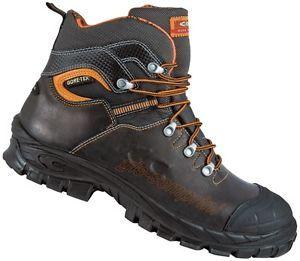 A Zapatos Calzado De Seguridad Cuero Trabajo Gore Tex Cofra Galarr S3 Wr Src Calzado De Seguridad Calzas Zapatos