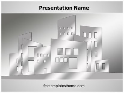16 best free real estate powerpoint ppt templates images on download free building architecture powerpoint template for your powerpoint toneelgroepblik Choice Image