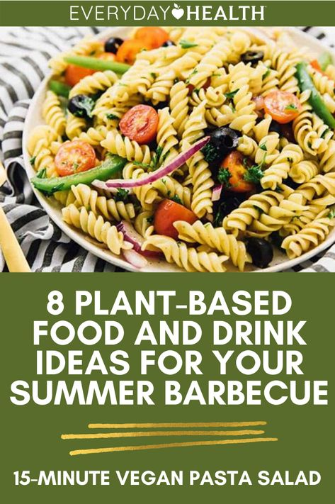Get ready for your next summer barbeque with one of these healthy plant based recipes.