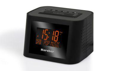 Karcher Dab 2420 Incl Dab Radiowecker Wecker Digitales Radio