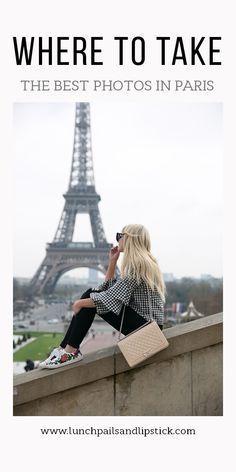 the best places to photograph in Paris / #Paris #travel #photography #instagramworthy #instagram #photoideas #europe