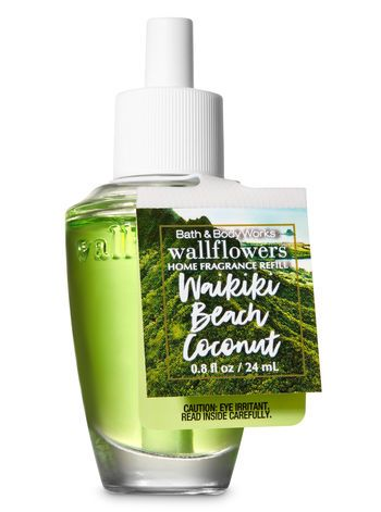 Waikiki Beach Coconut Wallflowers Fragrance Refill Bath