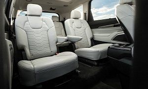 2020 Kia Telluride Pricing Revealed Lx Trim Level Starts At 31 690 A Mid Size Crossover With Seating For Eight Cars Autos Automotive Car New Cars Kia