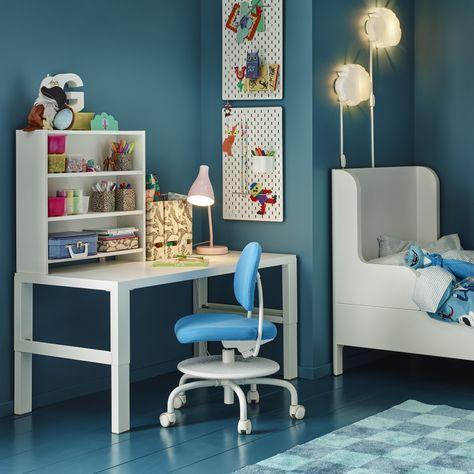 Ikea Bureaustoel Kind Wit.Nederland Kinderkamer Meisjes Bureau En Logeerkamer Kantoor