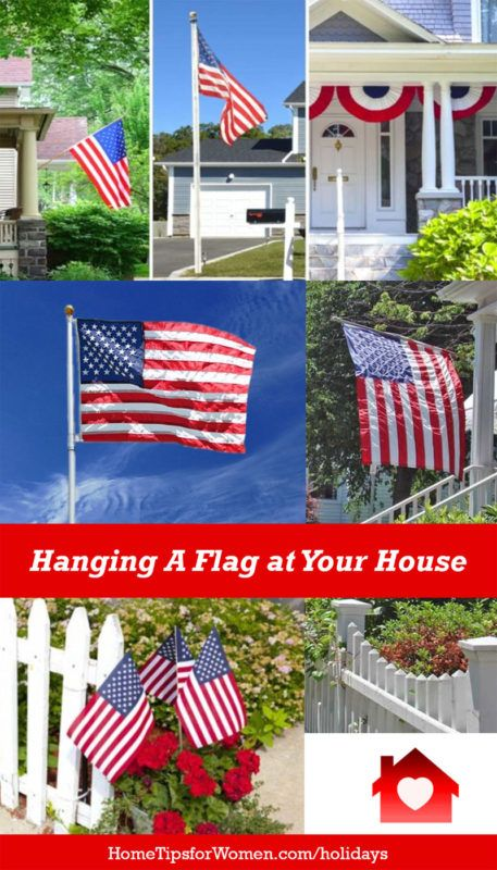 Tips For Hanging A Flag On Your House Flag Display Hanging