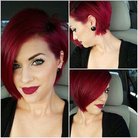 18 Short Red Hair Color Ideas In 2020 Short Red Hair Hair Styles Short Hair Styles