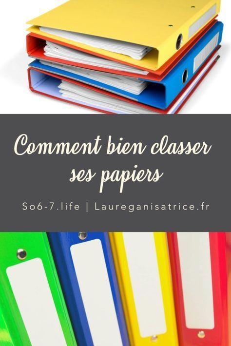 Comment Bien Classer Ses Papiers Organisation De Papier