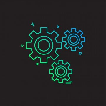 Gear Icon Design Vector Gear Icons Gear Icon Png And Vector With Transparent Background For Free Download Icon Design Mechanical Engineering Logo Free Graphic Design