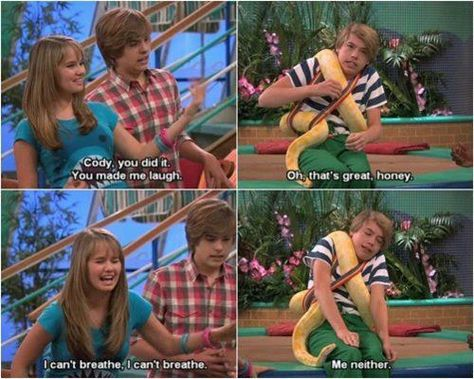 Suite Life On Deck - I don't miss this show, I miss when I thought everything they said was hilarious - however, this episode right here gets me every time :P