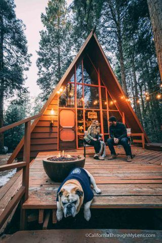 Idyllwild Is A Nice Mountain Town Near Palm Springs That S A Popular Destination For People That Live In Lower Elevation L Ecological House Cabin A Frame Cabin