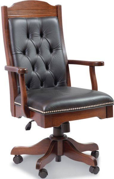 Up To 33 Off Starr Executive Desk Chair Amish Outlet Store Desk Chair Best Office Chair Chair