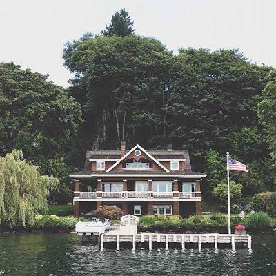 Lake House. Seattle, Washington.