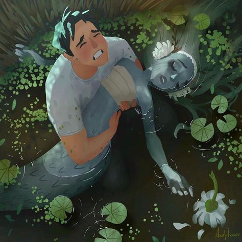 Artist Shares The Sequel Of The Green Mermaid Story That Hit People In The Feels | Bored Panda