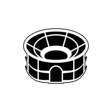 Football Stadium Background In 2021 Icon Symbols Icon Design