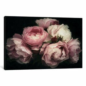 Madalene Texture 6 L X 99 6 W Wallpaper Panel In 2020 Floral Wall Decals Graphic Art Print Floral Oil Paintings