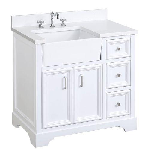 Montleban 36 Single Bathroom Vanity Set Single Bathroom Vanity Farmhouse Vanity Bathroom Vanity