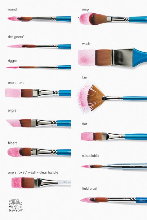 Art Painting Tools, Watercolor Painting Techniques, Simple Watercolor Paintings, Best Watercolor Brushes, Acrylic Paint Brushes, Small Canvas Paintings, Watercolor Art Lessons, Acrylic Painting Canvas, Easy Canvas Art