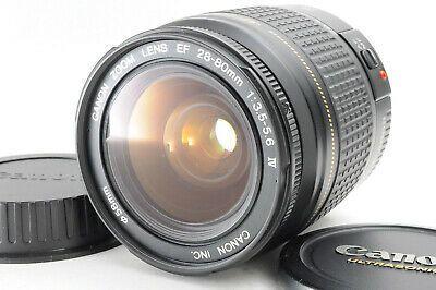 Very Good Canon Ef Zoom 28 80mm Iv F 3 5 5 6 Af Zoom Slr In 2020 Camera Lenses Lenses Camera