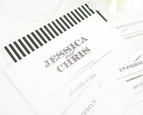 Ornate Wedding Invitations - Elegant Wedding Invitations