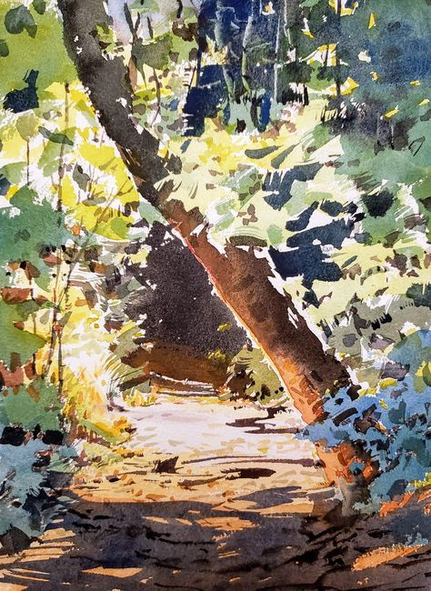 Landscaping Illustration Gouache 38 Ideas In 2020 Watercolor