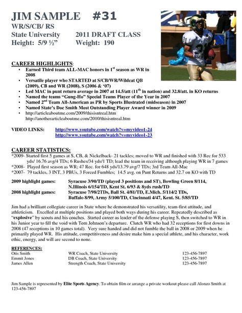 Hockey Player Resume Template Best Of Football Resume Insrenterprises Socalbrowncoats Soccer Coaching Resume Template Resume