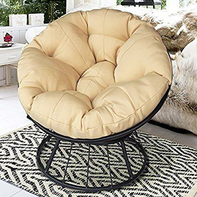 Superb Amazon Com Art To Real Deluxe 360 Swivel Papasan Chair Unemploymentrelief Wooden Chair Designs For Living Room Unemploymentrelieforg