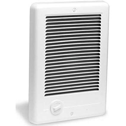 Cadet Csc152tw Com Pak 1500 Watt 240v Complete Wall Heater With Thermostat White Electric Space Heaters Heater Thermostat Heater