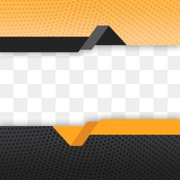 أسود وبرتقالي عنصر تصميم شكل فارغ ديكور للون السائل كتيب نشرة إعلانية Vector Shapes Wave Clipart Digital Elements