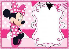printable minnie mouse birthday party