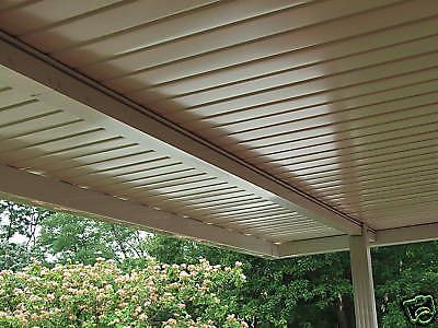 aluminum awning, patio cover set back beam 24 foot | Porch