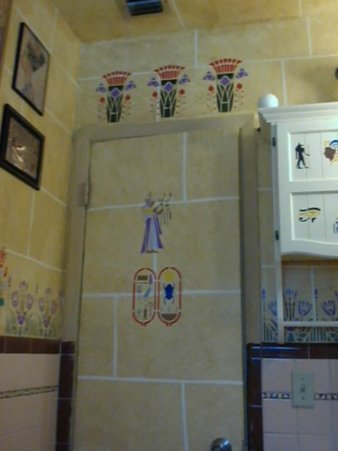 Egyptian Themed Bathroom Bear Bathroom Decor Bathroom Decor
