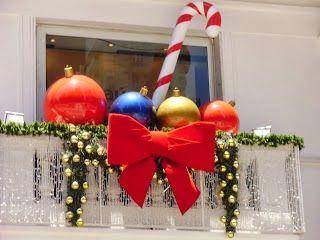 Imagenes Balcones Adornos Navidad.Decorar Un Balcon En Navidad Navidad Decoracion Navidad