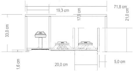 Projeto Line Array Com 2 Vias Com 2 Alto Falantes De 8 Polegas E