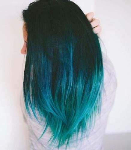 Hair Highlights And Lowlights Blue Dark Brown 49 Super Ideas Hair Dye Shades Teal Hair Dye Blue Ombre Hair