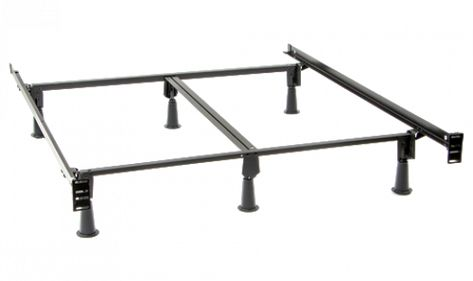 King Instamatic Bed Frame With Extender Leg Kit Tall Bed Frame