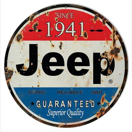 """New JEEP 4x4 Large 30/"""" Metal Tin Sign Vintage superior quality decor wall"""