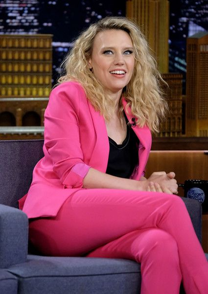 Kate McKinnon visits 'The Tonight Show Starring Jimmy Fallon' at Rockefeller Center.
