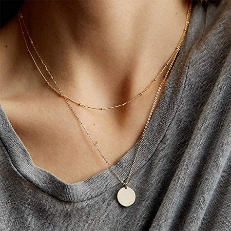 """Fashion Necklace Diy Butterfly Jewelry Arrow Necklace Multi Chain Necklace - """" Informations About Fashion Necklace Diy Butterfly Jewelry Arrow Necklace Multi Chain Necklace P - Gold Circle Necklace, Gold Necklace Simple, Multi Layer Necklace, Dainty Necklace, Arrow Necklace, Pendant Necklace, Cute Necklace, Strand Necklace, Delicate Jewelry"""