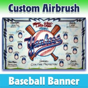 Baseball Banner Yankees 1010 In 2020 Baseball Banner Team Banner League Banners