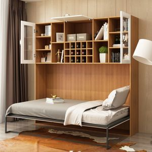 Source Space Saving Wall Mounted Modern Transformable Folding Wall Bed With Sofa On M Alibaba Com Wall Bed Bed Wall Wall Folding Bed