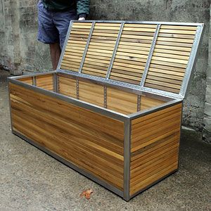 Custom Outdoor Furniture Design And Manufacture Service The Urban Balcony Www Urbanbalcony Au Sydney Like Storage Box