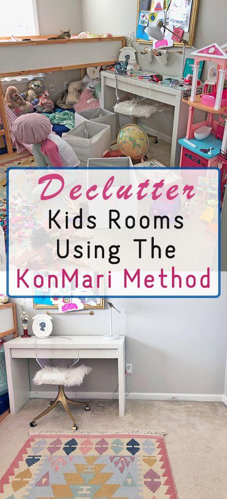 Konmari Inspired Kids Room Decluttering 100 Room