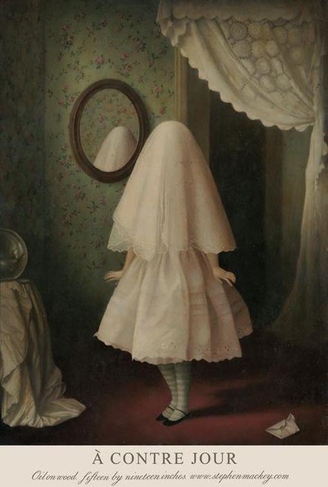 ideas dark art weird horror for 2019 Arte Horror, Horror Art, Art Sinistre, Michael Sowa, Art Magique, Art Noir, Creepy Art, Weird Art, Lowbrow Art