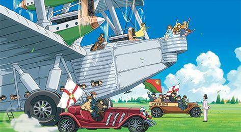 Kaze Tachinu Is The Studio Ghibli S Latest Animation Film Written And Directed By Hayao Miyazaki ジブリ スタジオジブリ ジブリ作品